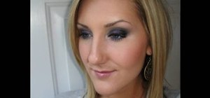 Apply black makeup MAC style