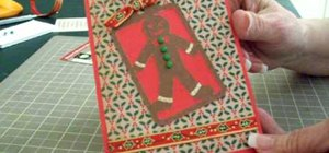Make a Christmas invite card using Cricut Very Merry