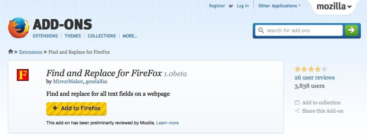 """How to """"Find & Replace"""" Text Directly in Your Web Browser"""