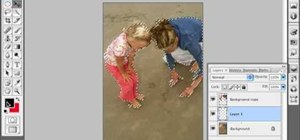 Cast a shadow within a photo in Photoshop