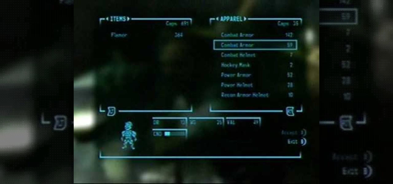 How to Get infinite caps and ammo in Fallout 3 for XBox 360 « Xbox