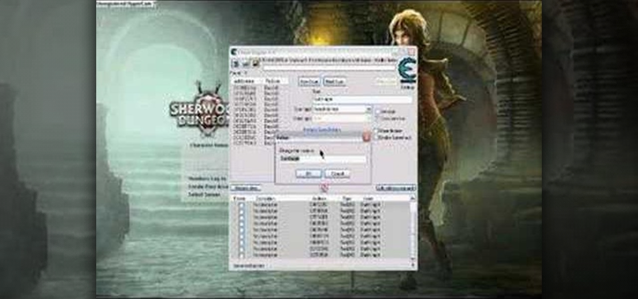 cheat engine 5.5 para sherwood dungeon