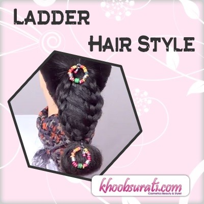 How to Ladder Hair Style