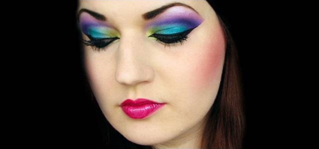 How to Do an Arabian peacock makeup look « Makeup