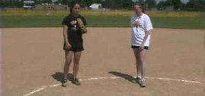 Improve softball pitching with a leg warmup
