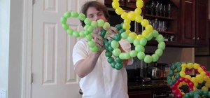 Make a six balloon dodecahedron