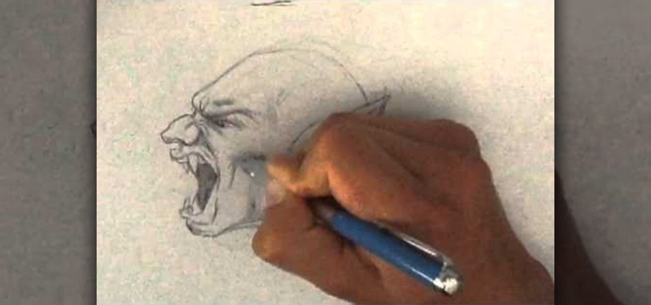 Draw a Vampire-Yelling
