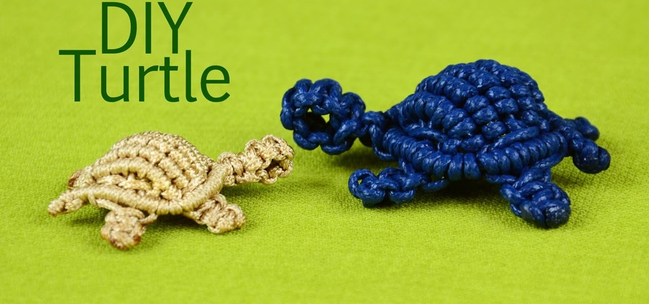 Make a Macrame Turtle