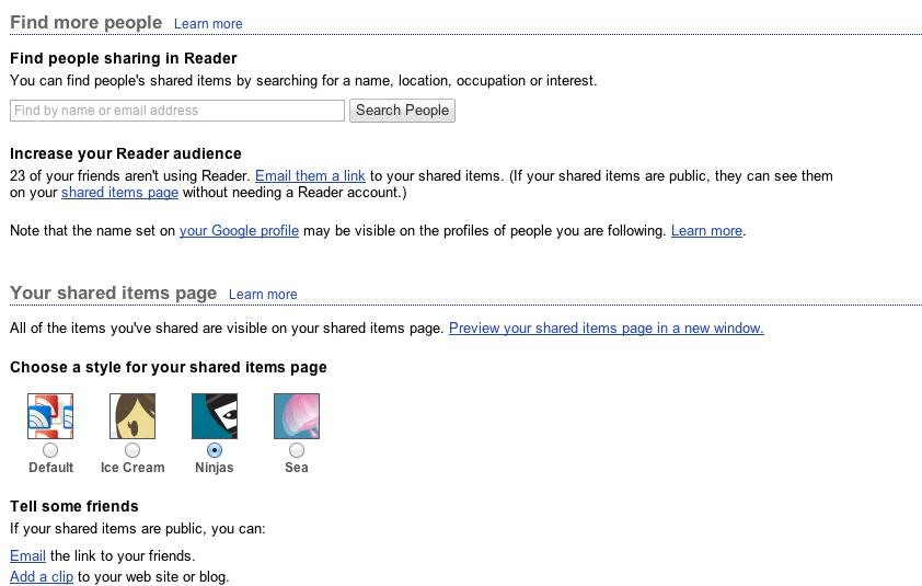 Was Google Reader Already a Great Google Social Network?