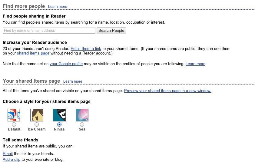 Was Google Reader Already a Great Google Social Network?