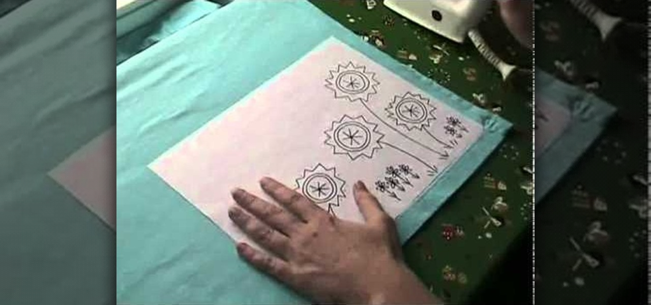 How To Transfer An Embroidery Pattern Onto Your Fabric Sewing