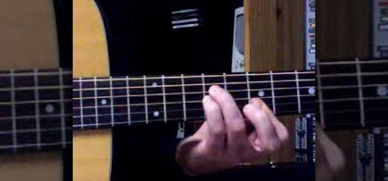 How To Play Sus4 Chords And Pinball Wizard By The Who Acoustic