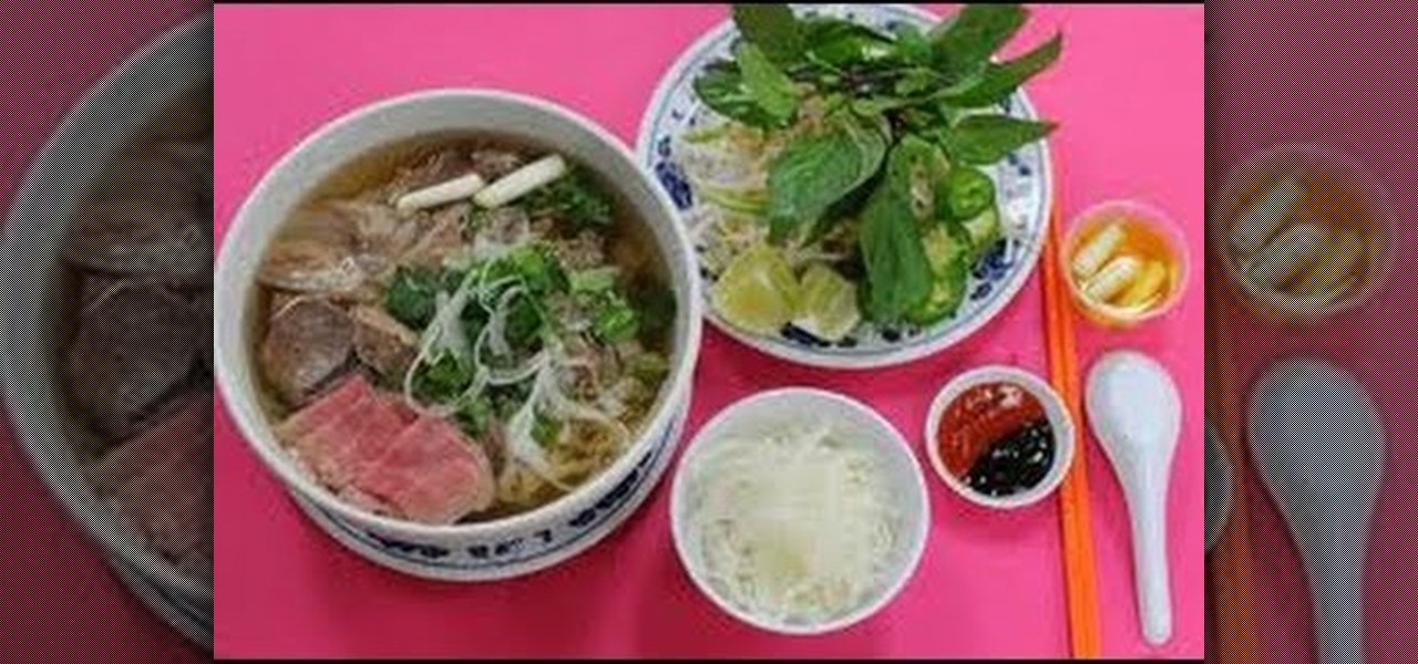 How to Make beef pho Vietnamese noodle soup with Kai « Soups