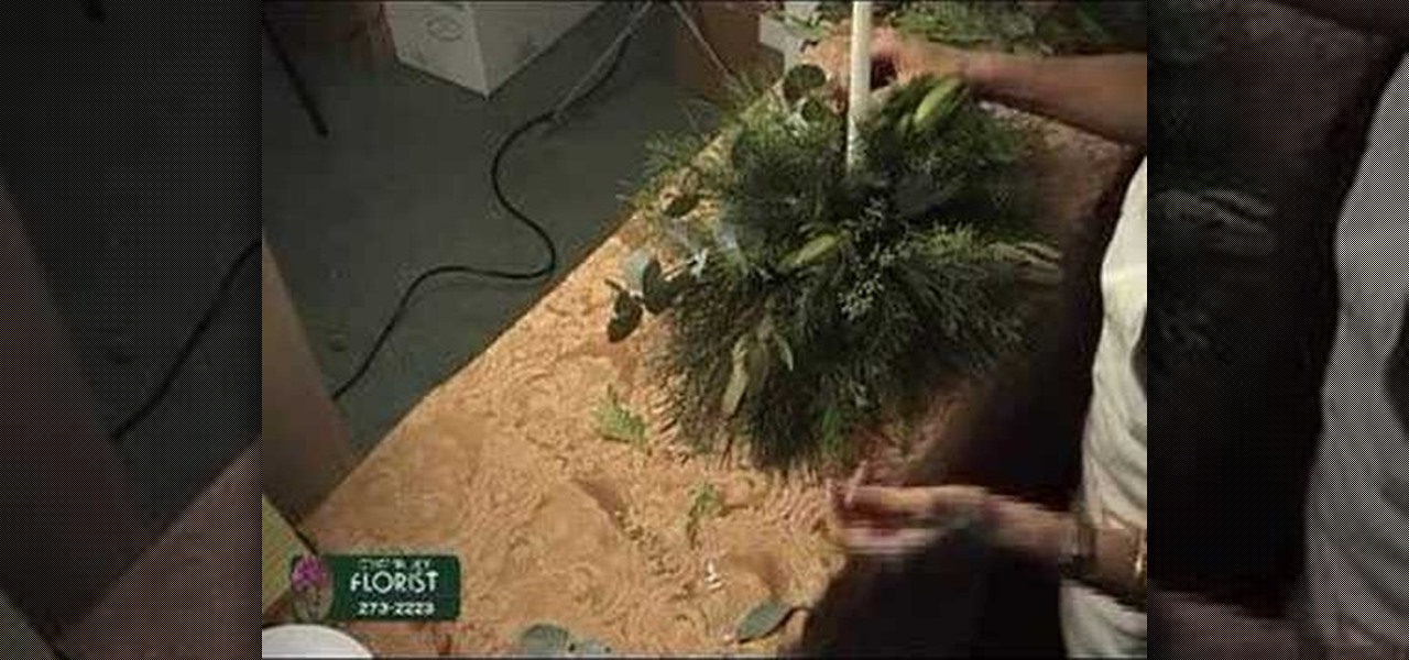 how to make a christmas bouquet