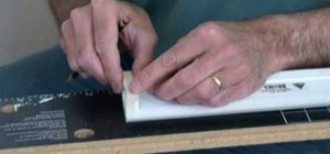 Install baseboard trim