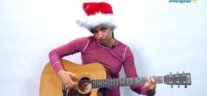 "Play ""The Chipmunk Song (Christmas Don't Be Late)"" on guitar"