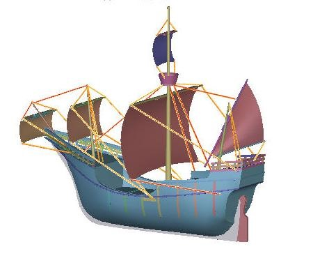How to Recreate Models of Christopher Columbus's Sailing Ships from 1492 « Model Cars, Rockets ...