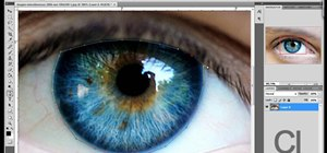Change the color of a person's eyes with Photoshop