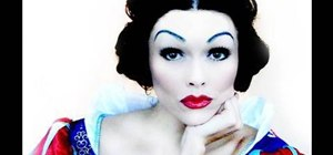 Apply Snow White inspired makeup