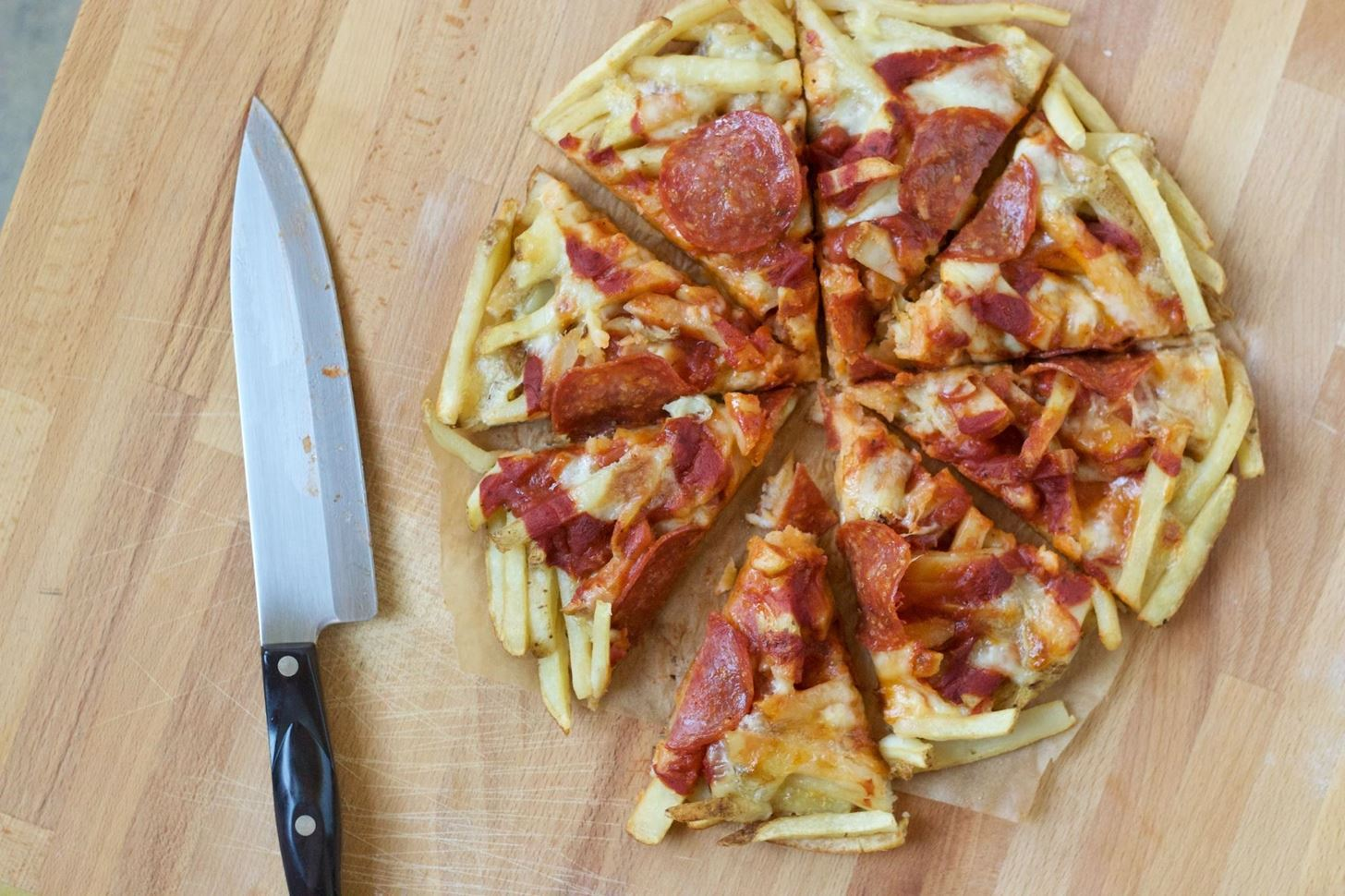 French Fry Pizza Crust—Your Drunk Self Will Thank You Later