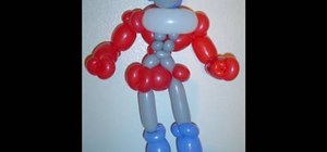 Make a balloon Optimus Prime Transformer