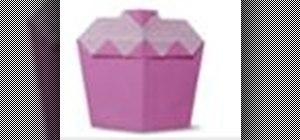 Origami a shortcake Japanese style