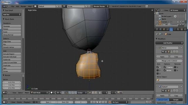Add a modeled 3D character into Blender's Game Engine