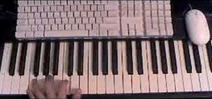 "Play Lil' Wayne's hit song ""Lollipop"" on the piano"