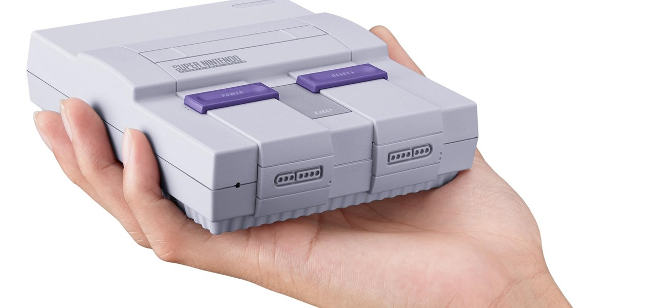 Get Your Hands on the New SNES Classic Edition