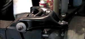 Replace a control arm on an LLV postal truck or Chevy S-10 pickup truck