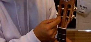 Set up a ukulele