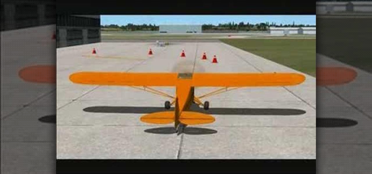 Google Earth Driving Simulator >> How to Taxi a plane in FSX (Flight Simulator X) « Aviation :: WonderHowTo