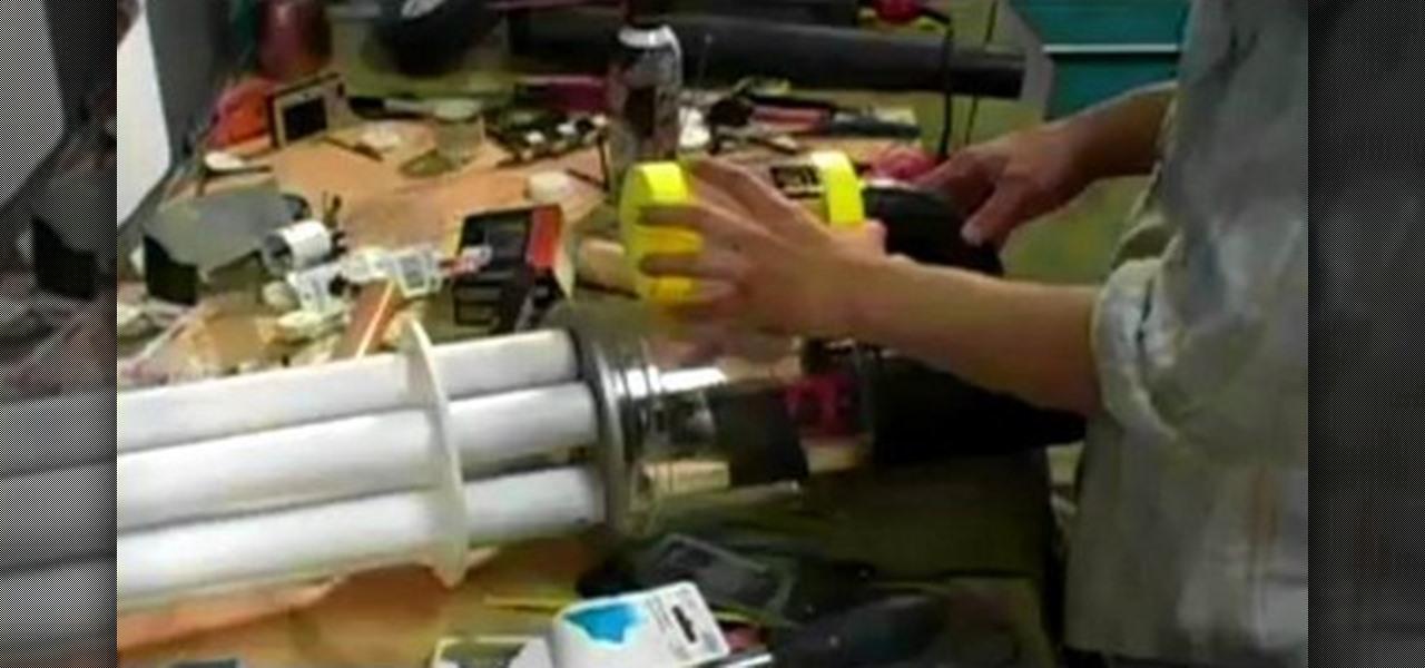 How To Make A Gatling Gun Arm Costume 171 Costuming