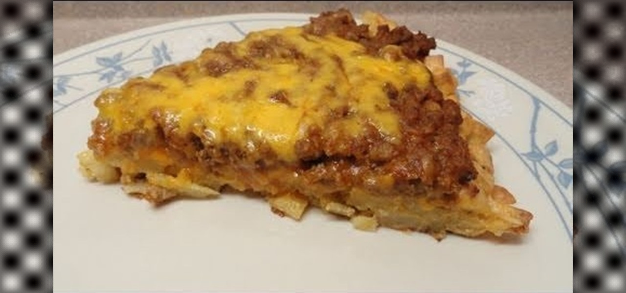 How to Bake a hash brown pizza with ground beef « Pizza