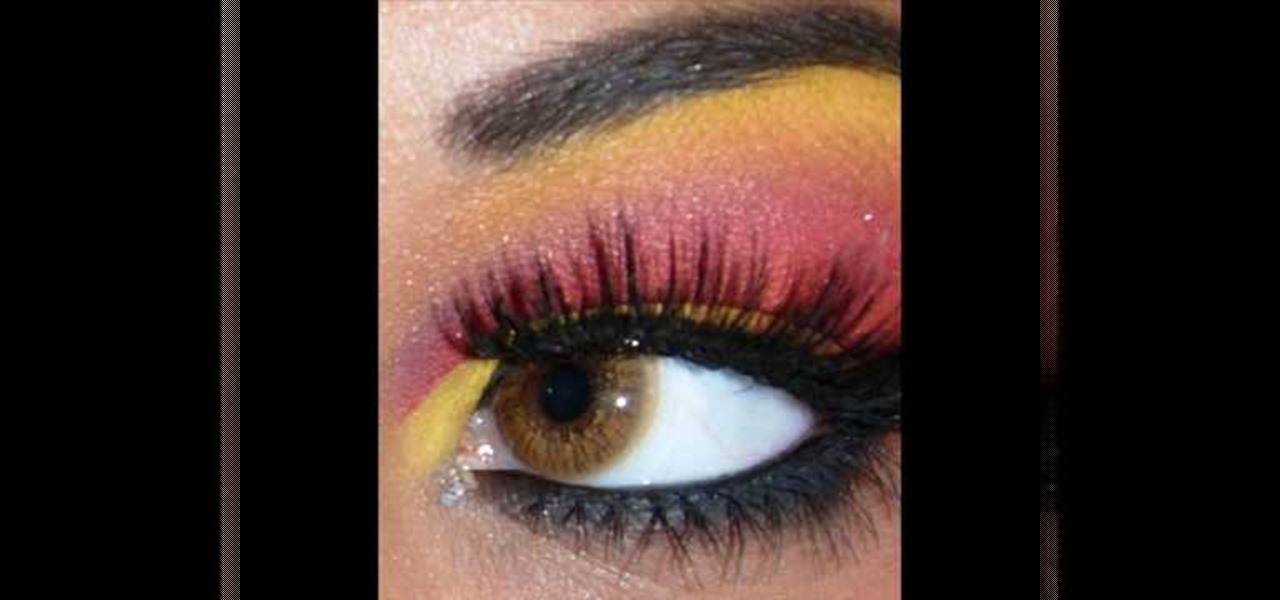 How To Create Fun Eye Makeup For A Halloween Devil Costume Makeup
