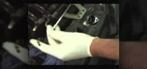Find oil leaks using florescent dye & ultraviolet