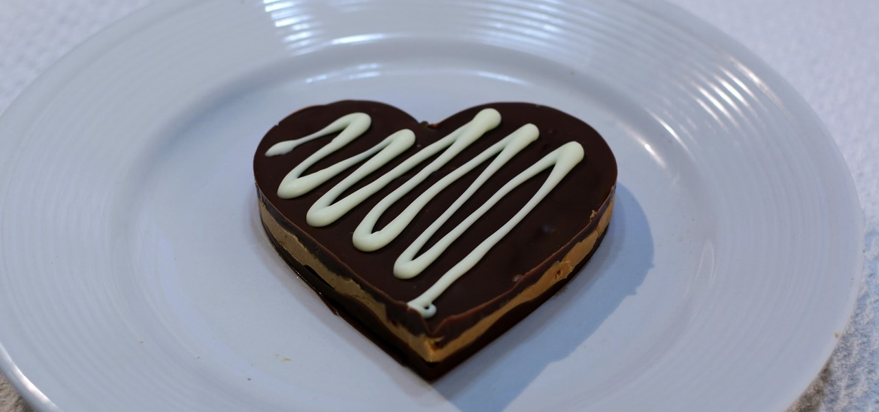 Make a Heart Shaped Peanut Butter Cup