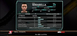 "Improve your ""my player"" in NBA 2K10"