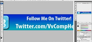 Create a Twitter banner for your YouTube videos in Adobe Photoshop