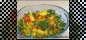 Makealoo patta gobhi sabji  (potatoes and cabbage)