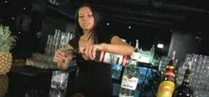 Mix a Cocaine Lady cocktail