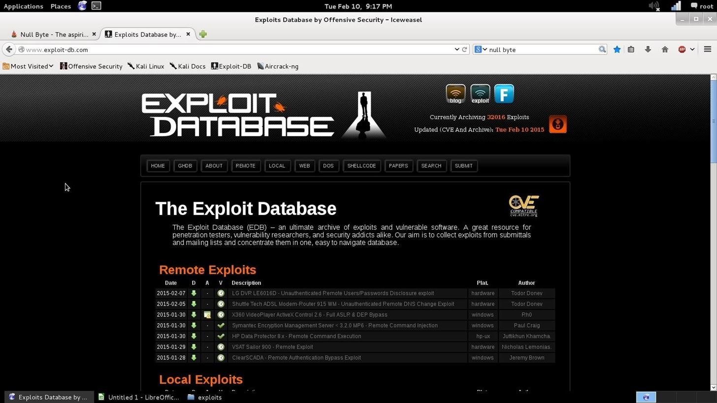 Exploit DataBase