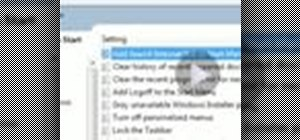 Add web search to the start menu in Windows 7
