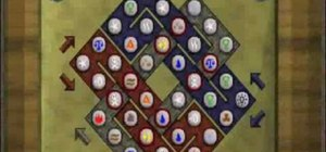 Solve the Celtic Knot Puzzle in Treasure Trails in RuneScape