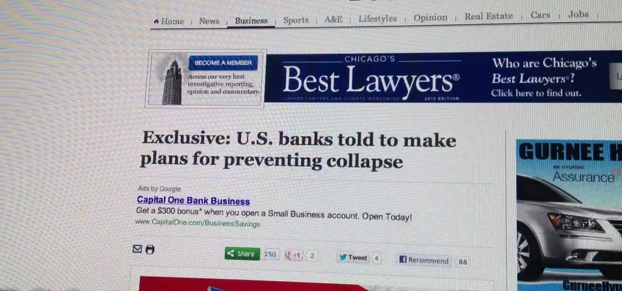 U.S Banks Told to Prepare for Collapse
