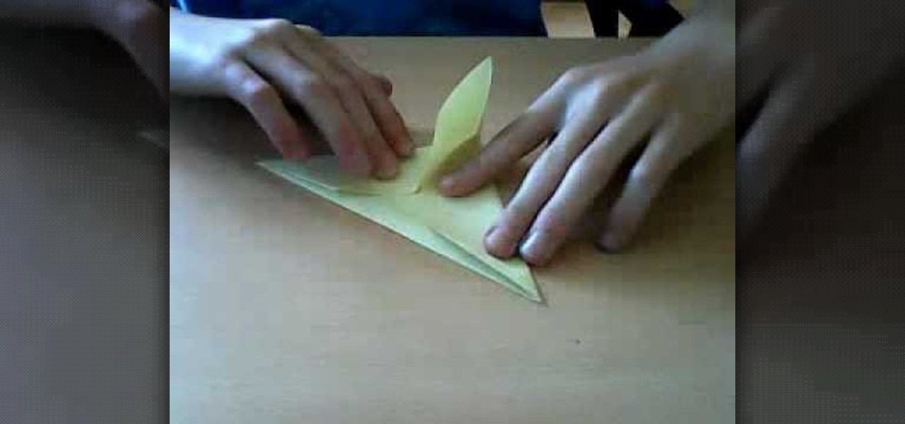 How To Fold An Origami Pteranodon Dinosaur WonderHowTo