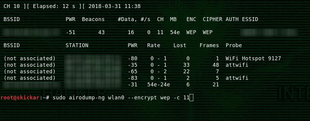 How to Hack Wi-Fi: Hunting Down & Cracking WEP Networks