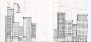 city building side. Draw A City Full Of Skyscrapers And Tall Buildings How To  Drawing