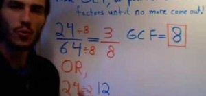 Reduce and simplify fractions