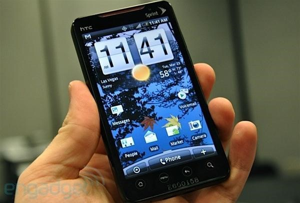 The Sprint HTC Evo 4G: Best Phone This Year